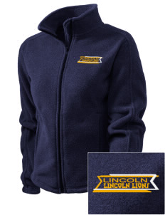 Lincoln Elementary School Lincoln Lions Embroidered Women's Fleece Full-Zip Jacket