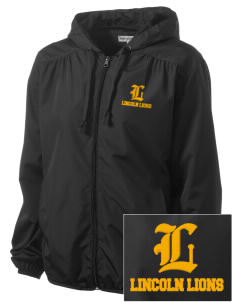 Lincoln Elementary School Lincoln Lions Embroidered Women's Hooded Essential Jacket