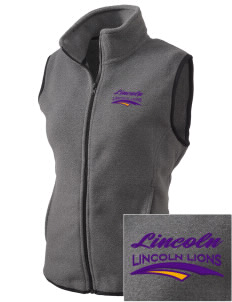 Lincoln Elementary School Lincoln Lions Embroidered Women's Fleece Vest