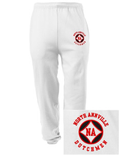 North Annville Elementary School Dutchmen Embroidered Men's Sweatpants with Pockets