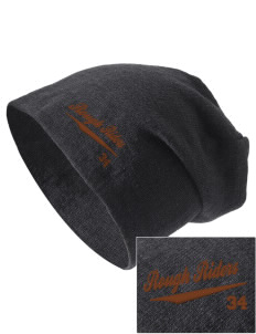 Lincoln Middle School Rough Riders Embroidered Slouch Beanie