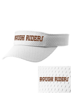 Lincoln Middle School Rough Riders Embroidered Woven Cotton Visor