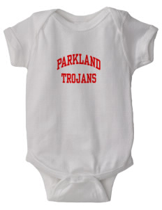 Parkland High School Trojans  Baby Lap Shoulder Creeper