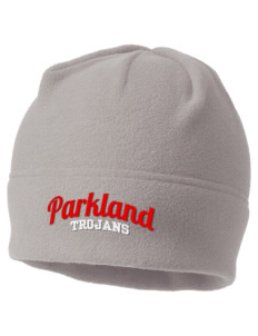 Parkland High School Trojans Embroidered Fleece Beanie