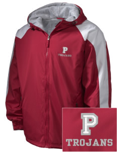 Parkland High School Trojans Embroidered Holloway Men's Weather Resistant Full-Zip Jacket