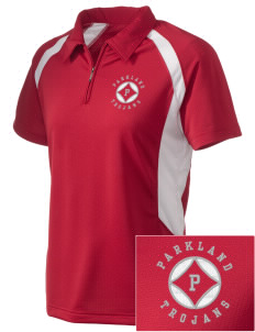 Parkland High School Trojans Embroidered Holloway Women's Polo