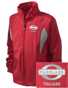 Parkland High School Trojans Embroidered Holloway Kid's Adrenaline Full-Zip Jacket