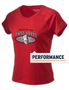 Parkland High School Trojans Champion Women's Wicking T-Shirt
