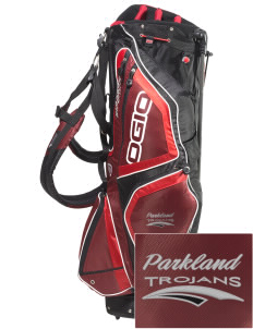 Parkland High School Trojans Embroidered OGIO Vaporlite Stand Golf Bag