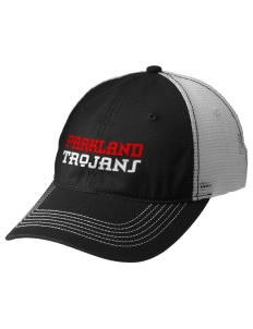 Parkland High School Trojans Embroidered Mesh Back Cap