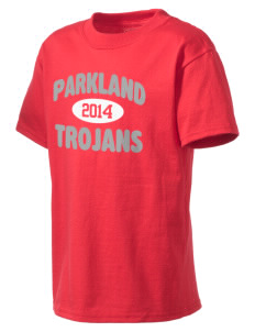 Parkland High School Trojans Kid's Lightweight T-Shirt