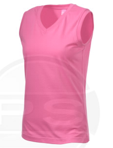 Parkland High School Trojans Women's V-Neck Sleeveless T-Shirt