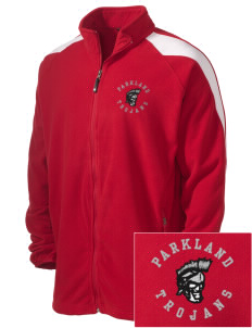 Parkland High School Trojans Embroidered Holloway Men's Flash Warmup Fleece Jacket