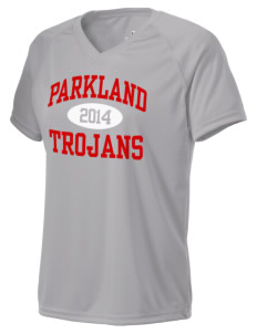 Parkland High School Trojans Holloway Women's Zoom Performance T-Shirt