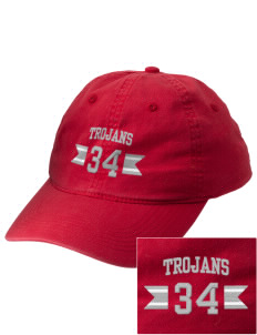 Parkland High School Trojans Embroidered Vintage Adjustable Cap
