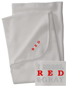 Parkland High School Trojans Embroidered Fleece Receiving Blanket