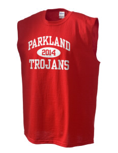 Parkland High School Trojans Men's Cotton Shooter Shirt