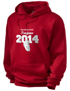 Parkland High School Trojans Men's Hooded Sweatshirt