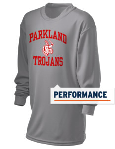 Parkland High School Trojans Holloway Kid's Performance Spark Long Sleeve T-Shirt