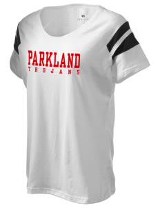 Parkland High School Trojans Holloway Women's Shout Bi-Color T-Shirt