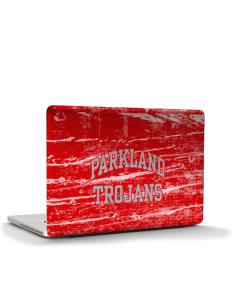 "Parkland High School Trojans Apple MacBook Pro 15.4"" Skin"