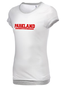 Parkland High School Trojans Women's Sheer Claudette 2 in 1 T-Shirt