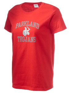 Parkland High School Trojans Women's 6.1 oz Ultra Cotton T-Shirt