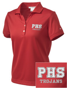 Parkland High School Trojans Embroidered Nike Women's Dri-Fit Classic Polo
