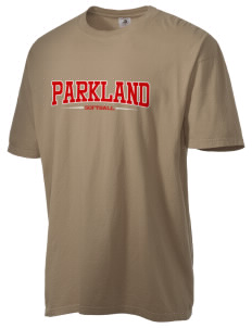 Parkland High School Trojans Men's Pigment-Dyed Vintage T-Shirt