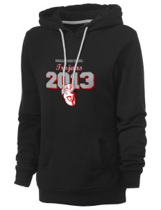 Parkland High School Trojans Women's Core Fleece Hooded Sweatshirt