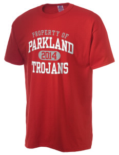 Parkland High School Trojans  Russell Men's NuBlend T-Shirt