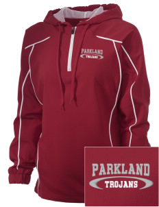 Parkland High School Trojans Embroidered Russell Women's Prestige 1/4 Zip Jacket