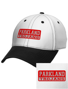Parkland High School Trojans Embroidered New Era Snapback Performance Mesh Contrast Bill Cap