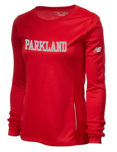 Parkland High School Trojans Women's New Balance Tempo Long-Sleeve Performance T-Shirt