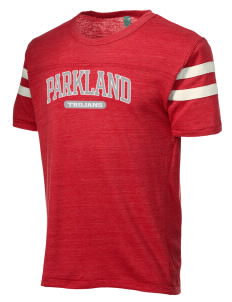 Parkland High School Trojans Alternative Men's Eco Football T-Shirt