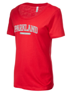 Parkland High School Trojans Women's Short-Sleeve Scoop Neck T-Shirt