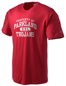 Parkland High School Trojans Champion Men's Tagless T-Shirt