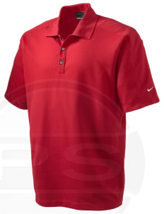 Parkland High School Trojans Embroidered Nike Men's Dri-FIT Pique II Golf Polo