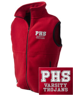 Parkland High School Trojans Embroidered Kids' Fleece Vest