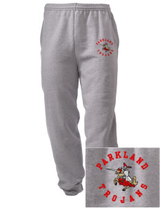Parkland High School Trojans Embroidered Men's Sweatpants with Pockets