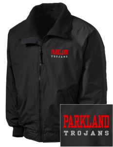 Parkland High School Trojans Embroidered Men's Fleece-Lined Jacket