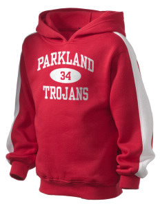 Parkland High School Trojans Kid's Hooded Sweatshirt with Stripe