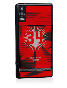 Crestwood Junior High School Comets Motorola Droid 2 Skin