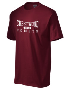 Crestwood Junior High School Comets Men's Essential T-Shirt