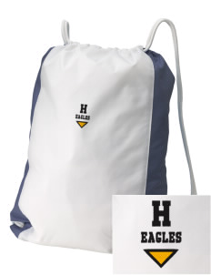 Hillview Intermediate Center Eagles Embroidered Holloway Home and Away Cinch Bag