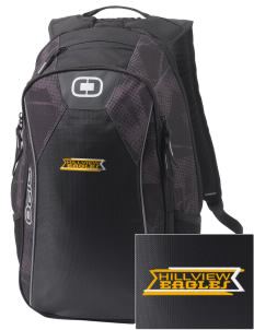 Hillview Intermediate Center Eagles Embroidered OGIO Marshall Backpack