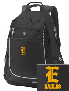 Hillview Intermediate Center Eagles Embroidered OGIO Carbon Backpack