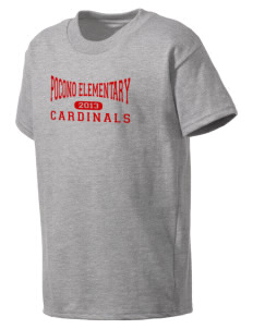 Pocono Elementary Center Cardinals Kid's T-Shirt