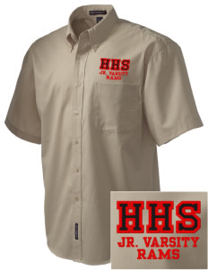 Harriton Senior High School Rams Embroidered Men's Easy Care Shirt