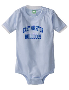East Norriton Middle School Eagles Baby One-Piece with Shoulder Snaps
